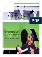 Psycographic Career Analysis Overview