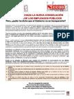 1695601-Comunicado CCOO Rechaza La Nueva Congelacion Salarial de Los Empleados Publicos