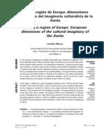 Galicia, región de Europa- dimensiones europeístas del imaginario culturalista de la Xunta