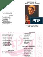 Festividad de Tomás de Aquino