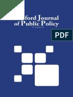 Sanford Journal of Public Policy - Volume 4 No. 1