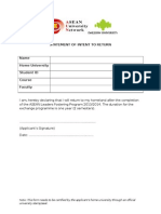 5. Statement of Intent to Return Form_asean Lfp 2013