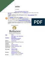 Reliance Industriesa.docx