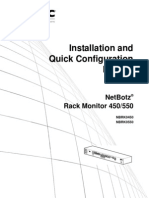 APC NetBotz Rack Monitor 450 Installation and Quick Configuration Manual.pdf