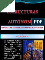 ESTRUCTURAS AUTONOMAS