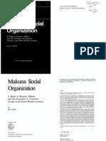 Arhem, Kaj - Makuna Social Organization
