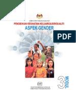Modul 3 Pendidikan Kesihatan Keluarga Seksualiti Aspek Gender