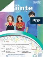 Revista de Stiinte pentru clasele Pregatitoare Si I-VIII