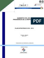 PLAN ESTRATEGICO 2010 a 2013 - GABINETE CIVIL DE LA PRESIDENCIA DE LA REPUBLICA - PORTALGUARANI