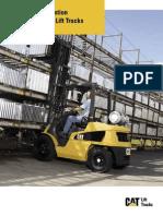 3000 to 7000 Lb Diesel Lift Trucks