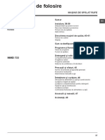 Manual Utilizare WMD 722B EU_RO
