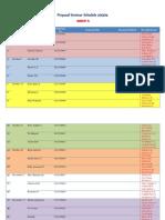Seminar Schedule 2013/14 Group A