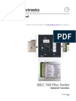 Mlc 104 i Plus User Guide