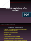 Time Scheduling a Project
