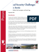 The Arctic: Five Critical Security Challenges