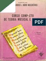 Curso Completo de Teoria Musical e Solfejo - VOL 1 - I