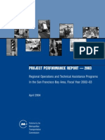 Project Performance Report