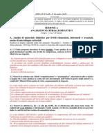 Proposta Chiavi - SEZIONE A