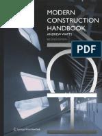 Pdf handbook modern construction