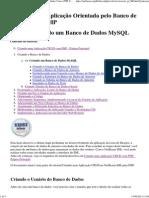 Lição 1_ Criando um Banco de Dados MySQL