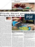 Fresh Start programs help kids eat healthier
