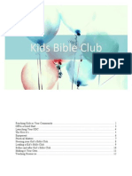 Kids Bible Clubs