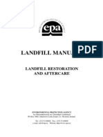 Epa Landfill Restoration and Aftercare