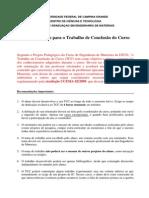 tcc - recomendações e calendaio 2013-1