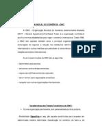 organizações internacionais -OMC