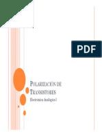 5.Polarizacion de Transistores