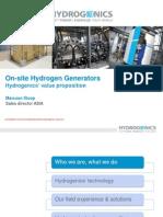 Presentation - Hydrogenics