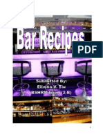 Bar Recipes