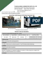 10KW Daewoo ATS Diesel Generator Set 13.5.29