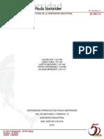 Historia de La Ingenieria Industrial en Colombia y en El Mundo II