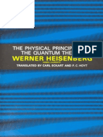 Heisenberg, The Physical Principles of Quantum Theory (1949, 99)