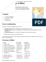 List of Governors of Bihar - Wikipedia, The Free Encyclopedia