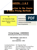 Pricing Strategy -Kotler Keller[1] (2)