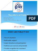 The ABC's of Publicity