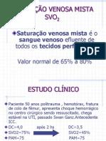 SATURAÇÃO VENOSA MISTA - Cópia