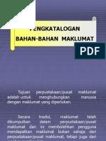 1. Pengkatalogan Bahan-bahan Maklumat