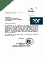 Informe Primer Debate (Comisión Especializada Permanente de la Biodiversidad y Recursos Naturales)