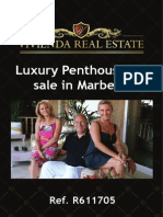 Luxury Penthouse for Sale in Marbella | R611705 Vivienda Real Estate