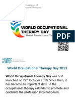 Guide to World Occupational Therapy Day 2013