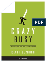 Study Guide to Crazy Busy