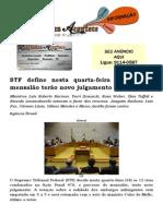 STF define nesta quarta-feira se réus do mensalão terão novo julgamento