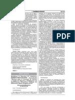 R.M. N° 0460-2013-ED- Normas para el Concurso de acceso a cargos de Director y Subdirector