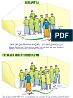 Gambar Illustrasi Tatacara Sholat Jamaah 01