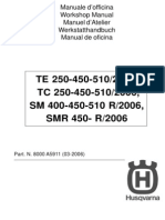 2006 Husqvarna Repair Shop Manual