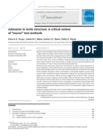 2010 Adhesion to Tooth Structure-A Critical Review of Macro Test Methods