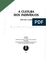 LAHIRE, Bernard. A cultura dos indivíduos. p.13-99